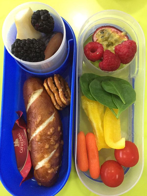 Niche Nannies Monday Lunchbox