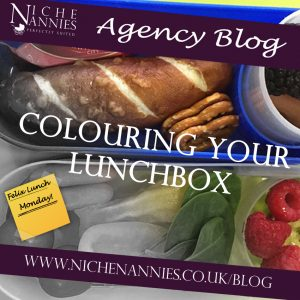 Colouring your lunchbox